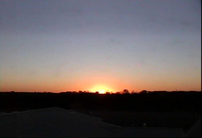 Russellville_sunset