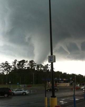 Picture of Cullman tornado