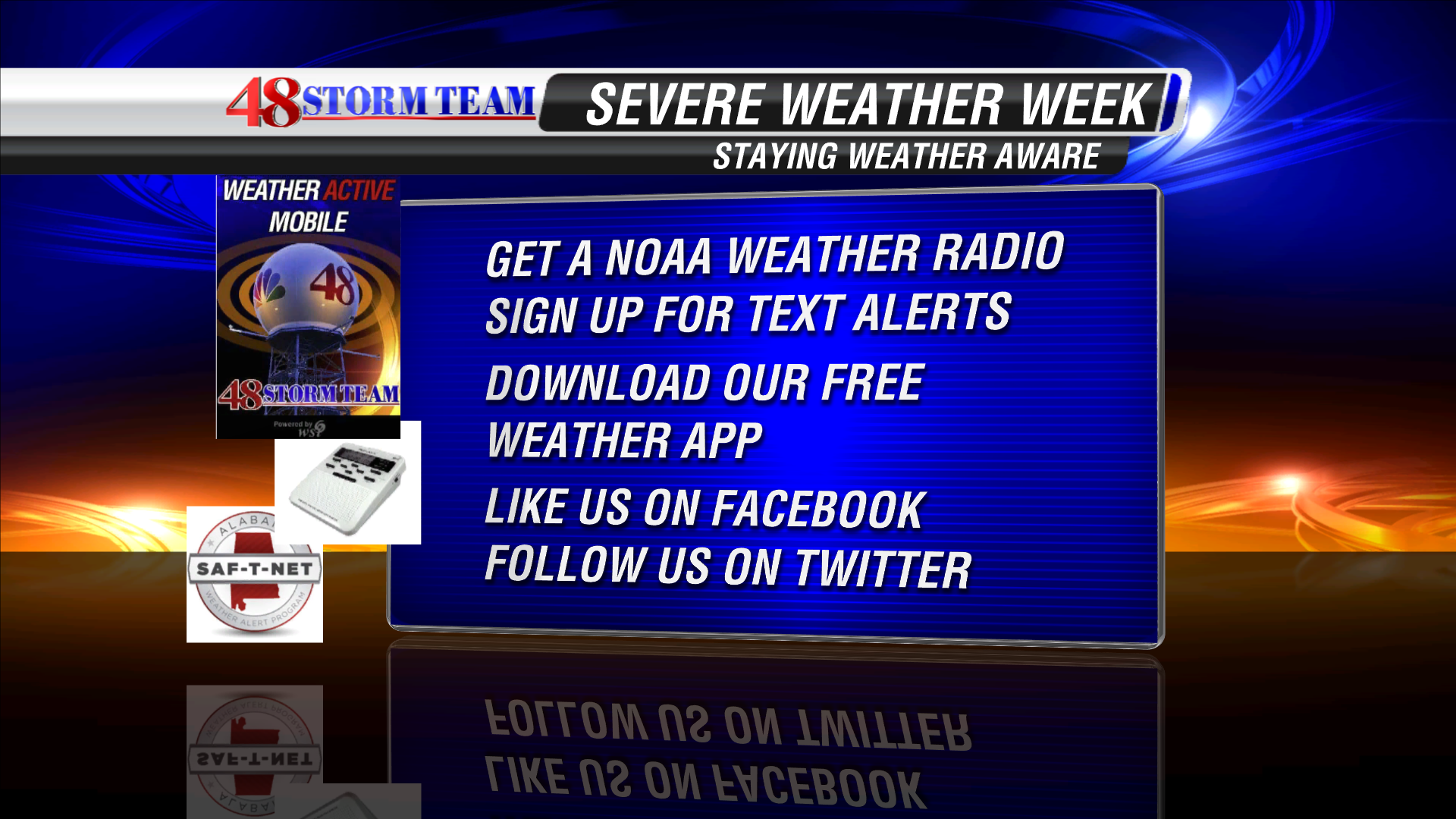 Severe Weather Awareness Week-Staying Weather Alert - WAFF Weather