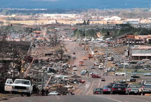1989 tornado