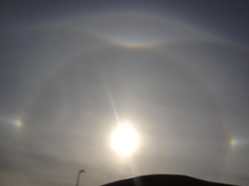 Sun halo heather hope