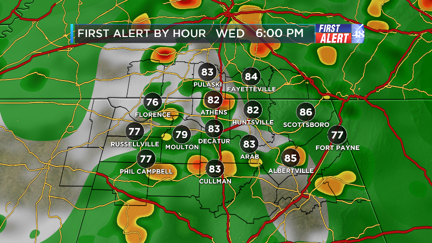 The first big cold front of September  - WAFF Weather