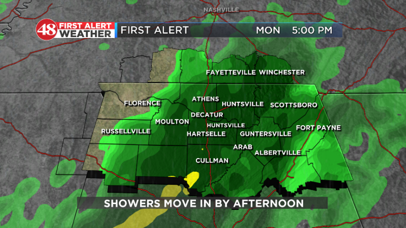 Rain And Even Colder Temps - WAFF Weather